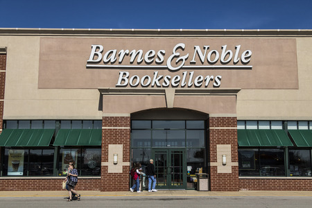Lafayette - Circa April 2017: Barnes & Noble Retail Location. Barnes & Noble is a leading retailer of content and digital media in the US VIII