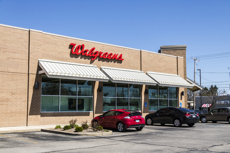 Lafayette - Circa April 2017: Walgreens Retail Location. Walgreens is an American Pharmaceutical Company XII