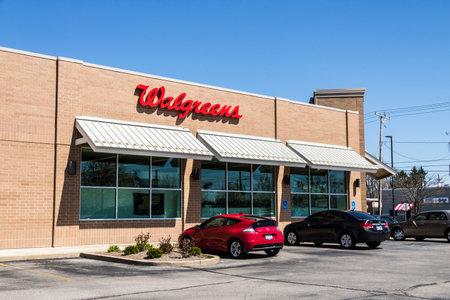 ラファイエット - 2017年 4 月年頃: ウォル グリーンの小売店の場所。ウォル グリーンはアメリカの製薬会社 XII です。