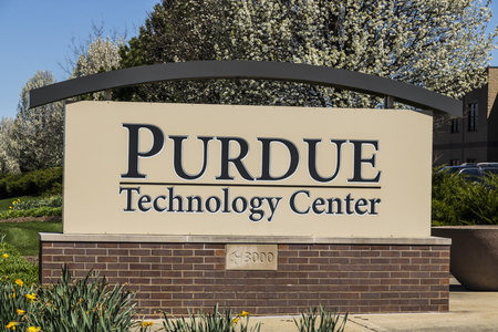 West Lafayette - Circa April 2017: Purdue Technology Center. This facility is the original incubator of Purdue Research Park I
