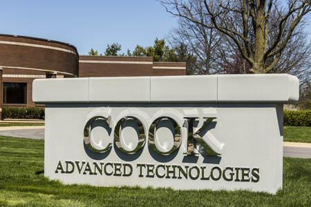 cfc: West Lafayette - Circa April 2017: COOK Advanced Technologies, a subsidiary of the COOK Group II Editorial
