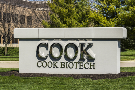 cfc: West Lafayette - Circa April 2017: COOK BioTech, a subsidiary of the COOK Group I