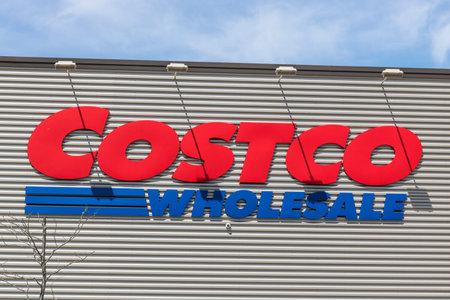 Fort Wayne - Circa April 2017: Costco Wholesale Location. Costco Wholesale is a Multi-Billion Dollar Global Retailer VIII Editorial