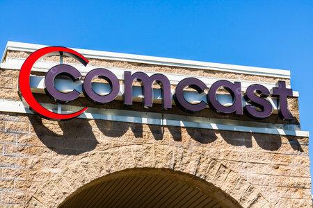 Fort Wayne - Circa April 2017: Comcast Service Center. Comcast is a multinational mass media company XIII