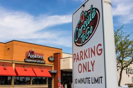 Marion - Circa April 2017: Applebee's Neighborhood Grill and Bar Casual Restaurant. Applebee's is a subsidiary of DineEquity, Inc. VI Editorial