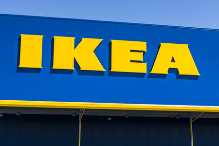 Fishers - Circa May 2017: KEA Home Furnishings Store. Founded in Sweden, IKEA is the worlds largest furniture retailer V