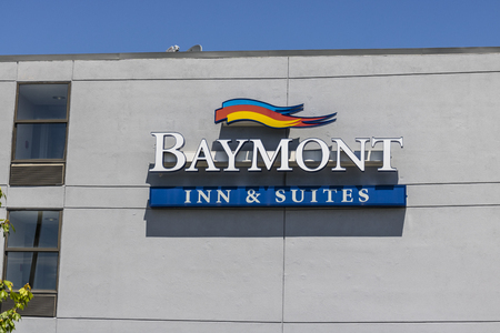 Fishers: Circa May 2017: Baymont Inn & Suites Hotel. Baymont Inn is a hotel franchise owned by Wyndham Worldwide I Editorial