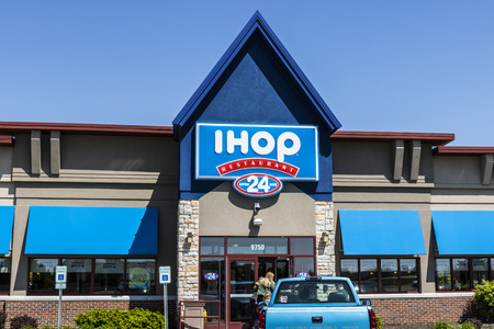 Fishers: - Circa May 2017: International House of Pancakes. IHOP is a Restaurant Chain Offering a Variety of Breakfast and Dinner Meals V