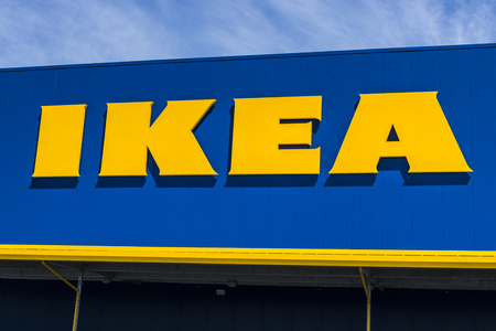 Fishers - Circa May 2017: KEA Home Furnishings Store. Founded in Sweden, IKEA is the worlds largest furniture retailer IX