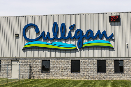 Indianapolis - Circa May 2017: Culligan Water Conditioning of Indianapolis. Culligan is a water treatment products company I Banco de Imagens - 78039729