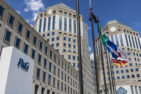 Cincinnati - Circa May 2017: Procter & Gamble Corporate Headquarters. P&G is an American Multinational Consumer Goods Company IX Editorial