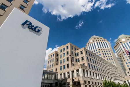 シンシナティ - 2017年 5 月年頃: 広角プロクター ・ アンド ・ ギャンブル企業の本社.P ・ G はアメリカの多国籍消費財会社 VII です。 報道画像