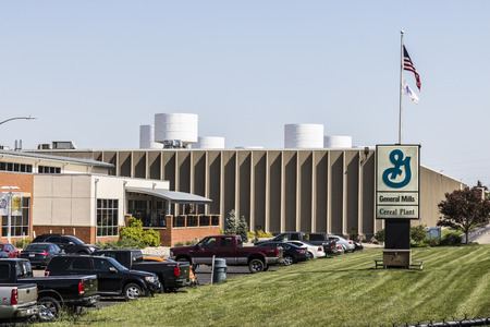 Sharonville - Circa May 2017: General Mills Cereal Plant. General Mills is a manufacturer branded consumer foods Editorial