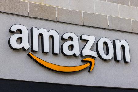 Cincinnati - Circa May 2017: Amazon Store in the U Square. Amazon@Cincinnati is Amazon's first Cincinnati brick-and-mortar store Editorial
