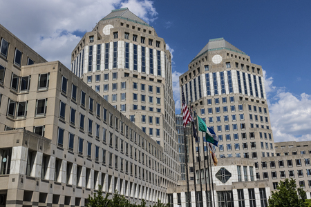 Cincinnati - Circa May 2017: Procter & Gamble Corporate Headquarters. P&G is an American Multinational Consumer Goods Company Éditoriale