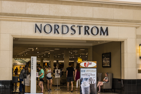 Cincinnati - Circa May 2017: Nordstrom Retail Mall Location. Nordstrom is Known for its Service and Fashion