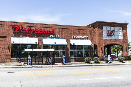 Indianapolis - Circa June 2017: Walgreens Retail Location. Walgreens is an American Pharmaceutical Company XIII Editorial
