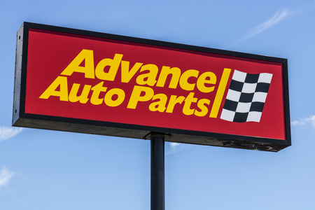Indianapolis - Circa June 2017: Advance Auto Parts Retail Location. Advance Auto Parts is the largest retailer of automotive replacement parts and accessories in the US IV