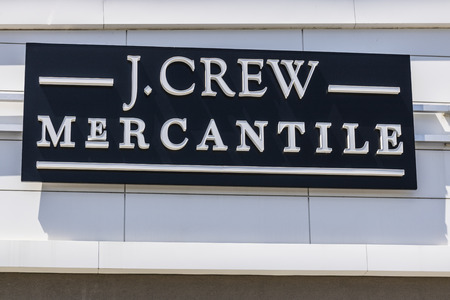 Indianapolis - Circa June 2017: J.Crew Retail Strip Mall Location. Same-store sales have been down at JCrew for the past three years, prompting changes in leadership I