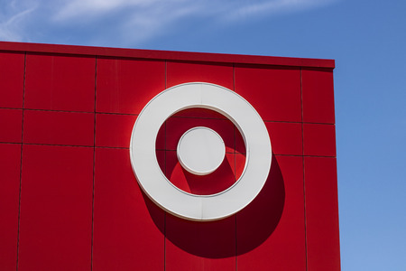 Indianapolis - Circa June 2017: Target Retail Store. Target Sells Home Goods, Clothing and Electronics XV