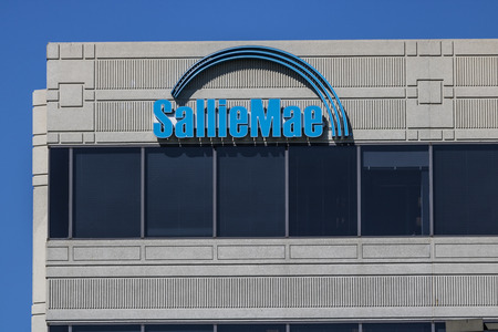 Indianapolis - Circa June 2017: Sallie Mae Customer Service Location. Sallie Mae services, and collects private education loans I
