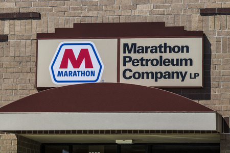 Indianapolis - Circa June 2017: Marathon Petroleum Regional Offices. Marathon Petroleum Refines and Markets Oil Products IV