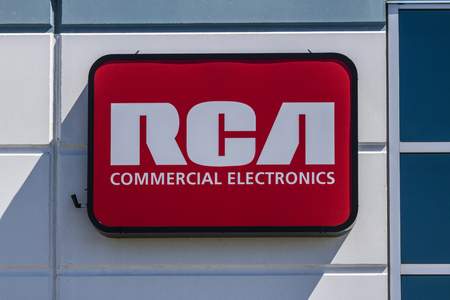 Indianapolis - Circa July 2017: RCA Commercial Electronics Office. RCA Commercial Electronics Designs Televisions, LED Lighting and other Accessories I