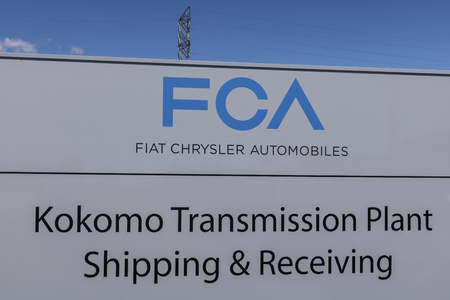 Kokomo - Circa June 2017: FCA Fiat Chrysler Automobiles Transmission Plant. FCA sells vehicles under the Chrysler, Dodge, and Jeep brands IX
