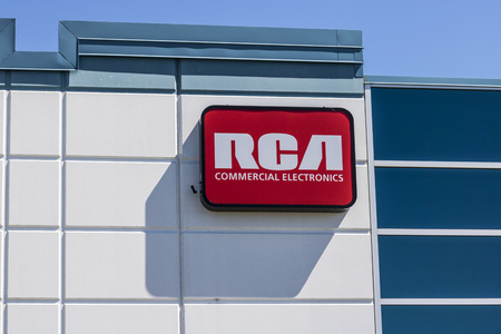 Indianapolis - Circa July 2017: RCA Commercial Electronics Office. RCA Commercial Electronics Designs Televisions, LED Lighting and other Accessories II Editorial