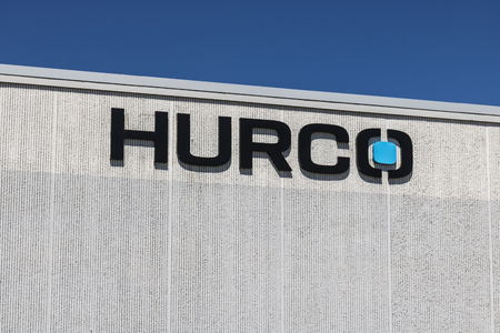 Indianapolis - Circa July 2017: Hurco Companies Headquarters. Hurco provides software and CNC controls I