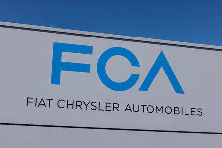 Kokomo - Circa June 2017: FCA Fiat Chrysler Automobiles Transmission Plant. FCA sells vehicles under the Chrysler, Dodge, and Jeep brands VIII