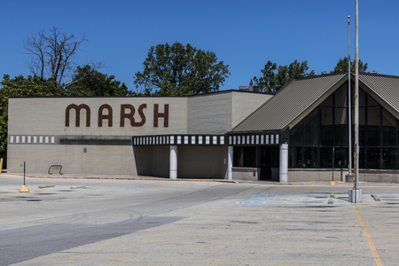 recently: Indianapolis - Circa July 2017: Recently shuttered Marsh Supermarket and Grocery Store. In May 2017, Marsh filed for Chapter 11 Bankruptcy Protection II Editorial