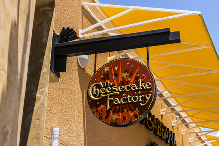 Las Vegas - Circa July 2017: The Cheesecake Factory Casual Restaurant Location. The Cheesecake Factory makes and distributes their signature Cheesecake I