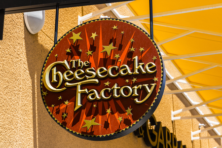 Las Vegas - Circa July 2017: The Cheesecake Factory Casual Restaurant Location. The Cheesecake Factory makes and distributes their signature Cheesecake II Editorial