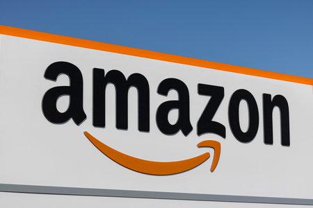 ラスベガス - 2017年 7 月年頃: Amazon.com フルフィルメント センター。アマゾンはアメリカ合衆国 iii Largest Internet-Based 店です。 報道画像