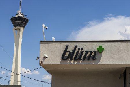 Las Vegas - Circa July 2017: Blüm Marijuana Dispensary. As of 2017, Recreational Pot is legal in Nevada V