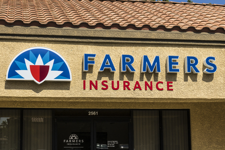 Las Vegas - Circa July 2017: Farmers Insurance Group Agent Location. Farmers Provides Home, Life and Car Insurance III