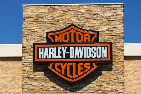 Las Vegas - Circa July 2017: Harley-Davidson Local Signage. Harley Davidsons Motorcycles are Known for Their Loyal Following X Editorial