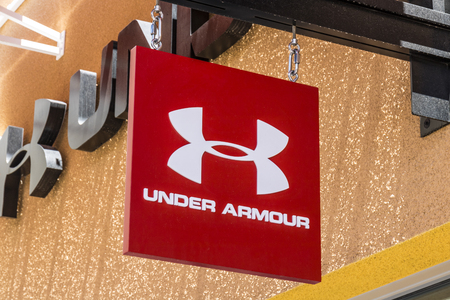 Las Vegas - Circa July 2017: Under Armour outlet shop. Under Armour manufactures a popular line of sporting equipment apparel I Editorial
