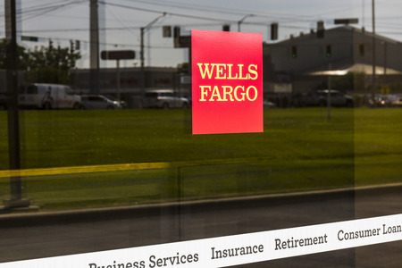 Ft. Wayne - Circa August 2017: Wells Fargo Retail Bank Branch. Wells Fargo is a Provider of Financial Services XIII