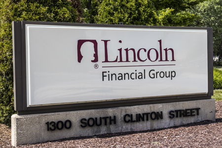 Ft. Wayne - Circa August 2017: Lincoln Financial Group Office, Lincoln Financial offers life insurance, annuities, and retirement plans II Sajtókép