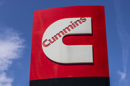 Ft. Wayne - Circa August 2017: Cummins Inc. Signage and Logo. Cummins is a Manufacturer of Engines and Power Generation Equipment V Editorial
