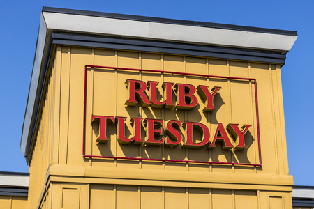 Kokomo - Circa August 2017: Ruby Tuesday Casual Restaurant Location. Ruby Tuesday is famous for its Salad Bar III