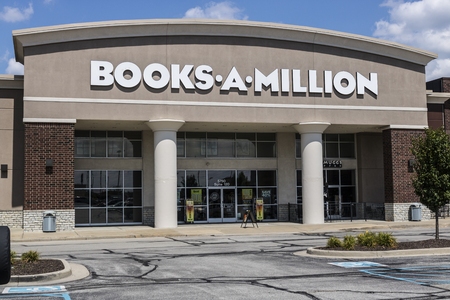 Indianapolis - Circa August 2017: Books-A-Million retail strip mall location. Books-A-Million is the second largest bookstore in the US I