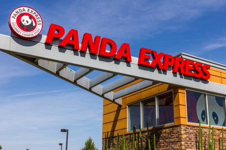 Indianapolis - Circa September 2017: Panda Express Fast Casual American Chinese restaurant.