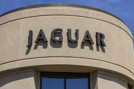 Indianapolis - Circa September 2017:  Local Jaguar Luxury Car Dealership. Jaguar is a subsidiary of Tata Motors