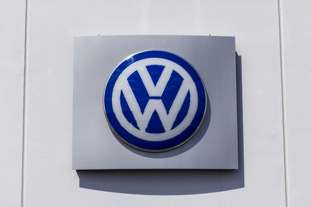 Indianapolis - Circa September 2017: Volkswagen Cars and SUV Dealership. VW is Among the Worlds Largest Car Manufacturers X Editorial