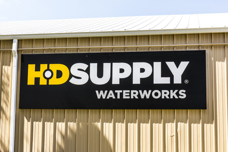 Indianapolis - Circa September 2017: HD Supply water products distributor. HD Supply is one of the largest industrial distributors in North America II