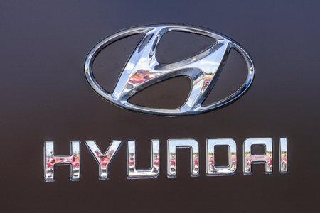 Indianapolis - Circa September 2017: Hyundai Motor Company Dealership. Hyundai is a South Korean Multinational Automotive Manufacturer XI