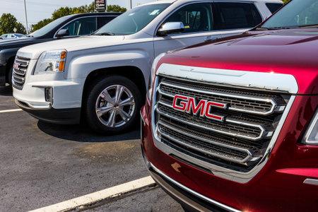 ココモ - 2017 年 9 月頃: GMC ビュイック トラックと SUV の販売店。GMC、ビュイックは GM V の部門 報道画像